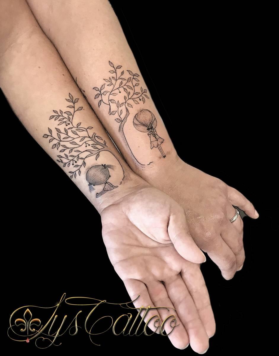 vous souhaitez un tatouage en commun plusieurs en. Black Bedroom Furniture Sets. Home Design Ideas