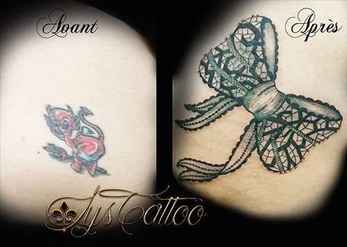 Trouver Un Tatoueur Specialiste Recouvrement De Tatouage A Talence Proche De Bordeaux Tatoueur Vers Bordeaux Lys Tattoo